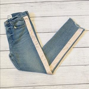 Maguire Ultra High-Rise Slim Jeans Satin Sides 27